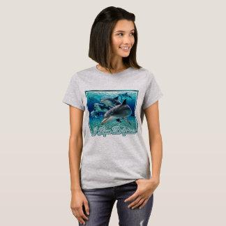 Camiseta Eu amo golfinhos