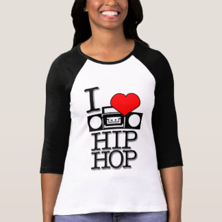 Camiseta Eu amo HIPHOP