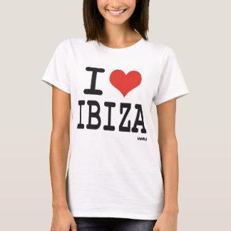 Camiseta Eu amo Ibiza