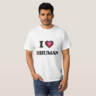 Camiseta Eu amo inumano