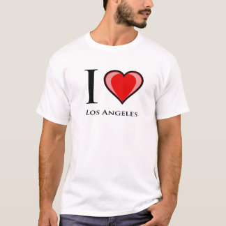 Camiseta Eu amo Los Angeles