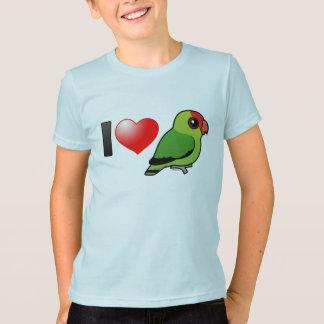 Camiseta Eu amo Lovebirds Abyssinian