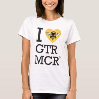 Camiseta Eu amo maior Manchester