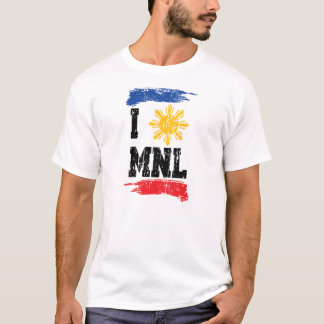 Camiseta Eu amo Manila