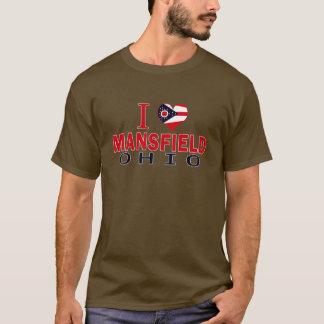 Camiseta Eu amo Mansfield, Ohio