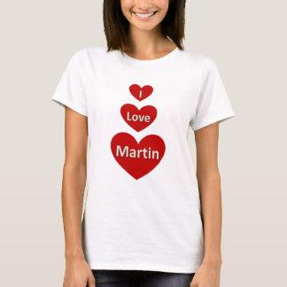 Camiseta Eu amo Martin