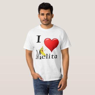Camiseta Eu amo Melita
