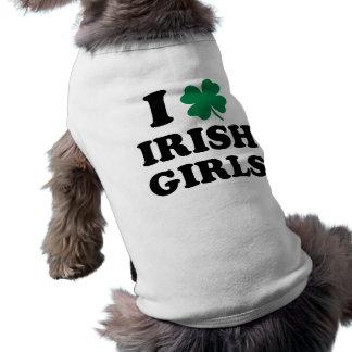 Camiseta Eu amo meninas irlandesas