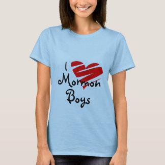 Camiseta Eu amo meninos do Mormon, lds, mormon, igreja,