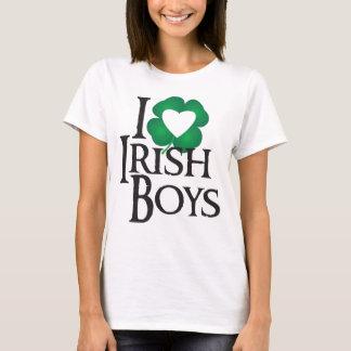 Camiseta Eu amo meninos irlandeses