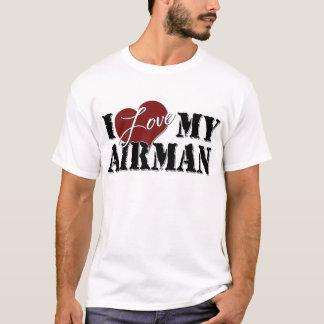 Camiseta Eu amo meu aviador