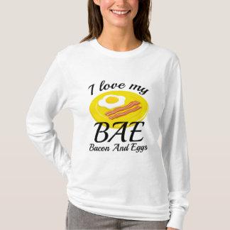Camiseta Eu amo meu BAE