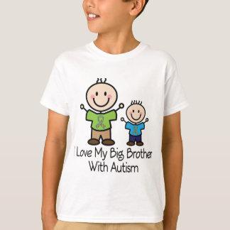 Camiseta Eu amo meu big brother com autismo