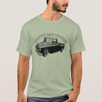 Camiseta Eu amo meu caminhão