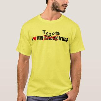 Camiseta Eu amo meu caminhão de toyota