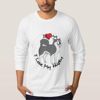 Camiseta Eu amo meu cão ronco