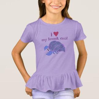Camiseta Eu amo meu caranguejo de eremita
