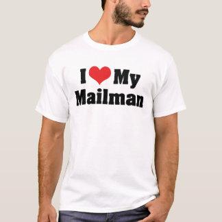 Camiseta Eu amo meu carteiro
