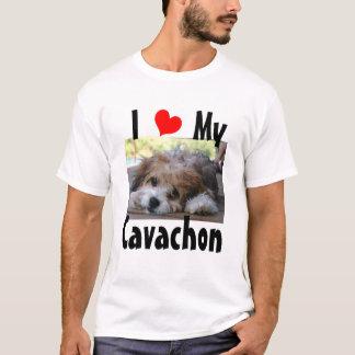 Camiseta Eu amo meu Cavachon