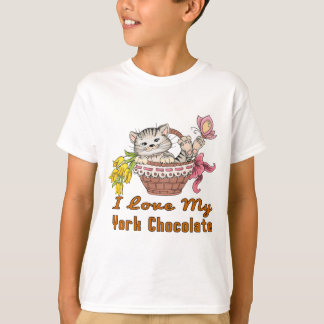 Camiseta Eu amo meu chocolate de York
