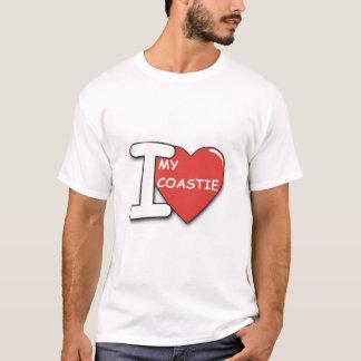 Camiseta Eu amo meu coastie
