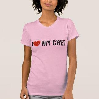 Camiseta Eu amo meu cozinheiro chefe