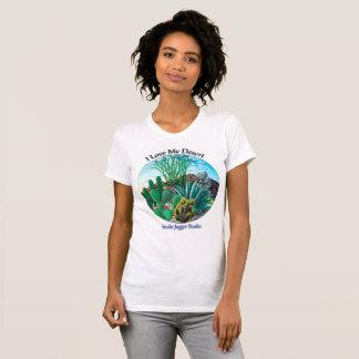Camiseta Eu amo meu deserto