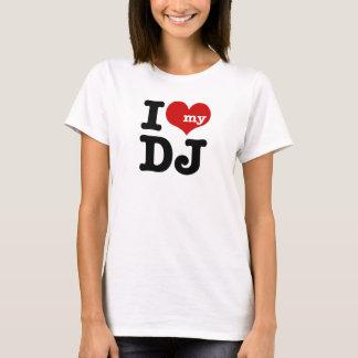 Camiseta Eu amo meu DJ