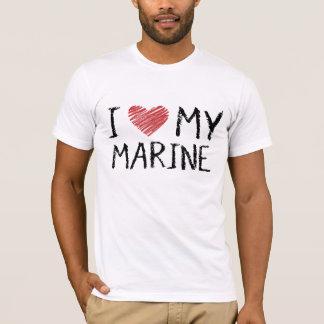 Camiseta Eu amo meu fuzileiro naval