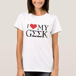 Camiseta Eu amo meu geek