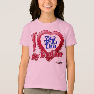 Camiseta Eu amo meu irmão - foto