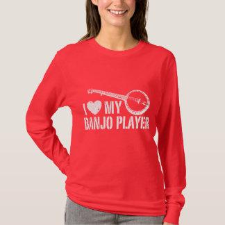 Camiseta Eu amo meu jogador do banjo