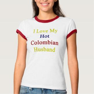 Camiseta Eu amo meu marido colombiano quente