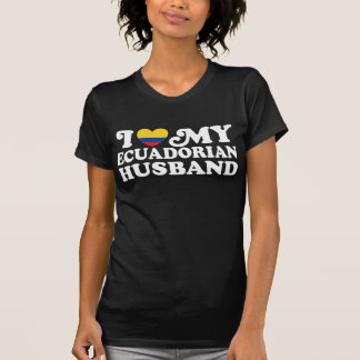 Camiseta Eu amo meu marido de Ecudorian
