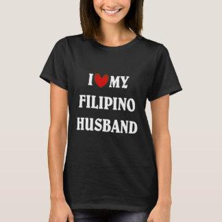 Camiseta Eu amo meu marido filipino