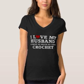 Camiseta Eu amo meu marido quase tanto quanto eu amo o