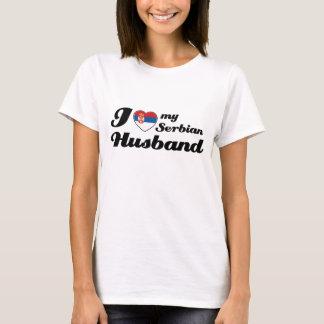 Camiseta Eu amo meu marido sérvio