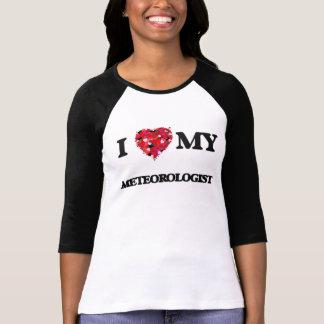 Camiseta Eu amo meu meteorologista