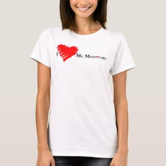 Camiseta Eu amo meu missionário