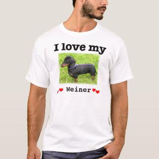 Camiseta Eu amo meu modelo de Weiner