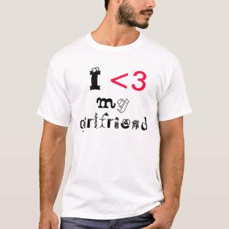 Camiseta Eu amo meu namorada