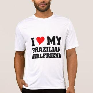 Camiseta Eu amo meu namorada brasileiro