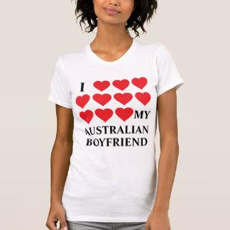Camiseta Eu amo meu namorado australiano