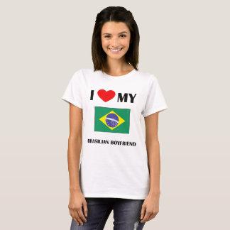 Camiseta Eu amo meu namorado brasileiro
