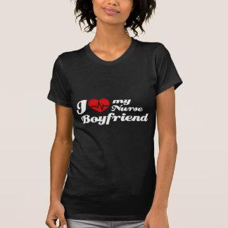 Camiseta Eu amo meu namorado da enfermeira