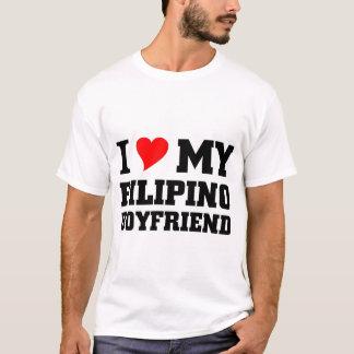 Camiseta Eu amo meu namorado filipino