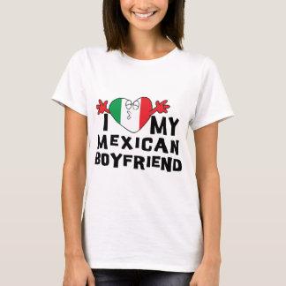 Camiseta Eu amo meu namorado mexicano