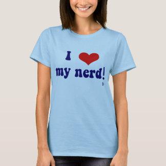 Camiseta Eu amo meu nerd!
