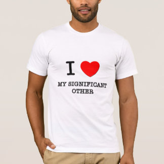 Camiseta Eu amo meu outro significativo