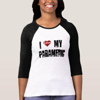 Camiseta Eu amo   meu paramédico, amor